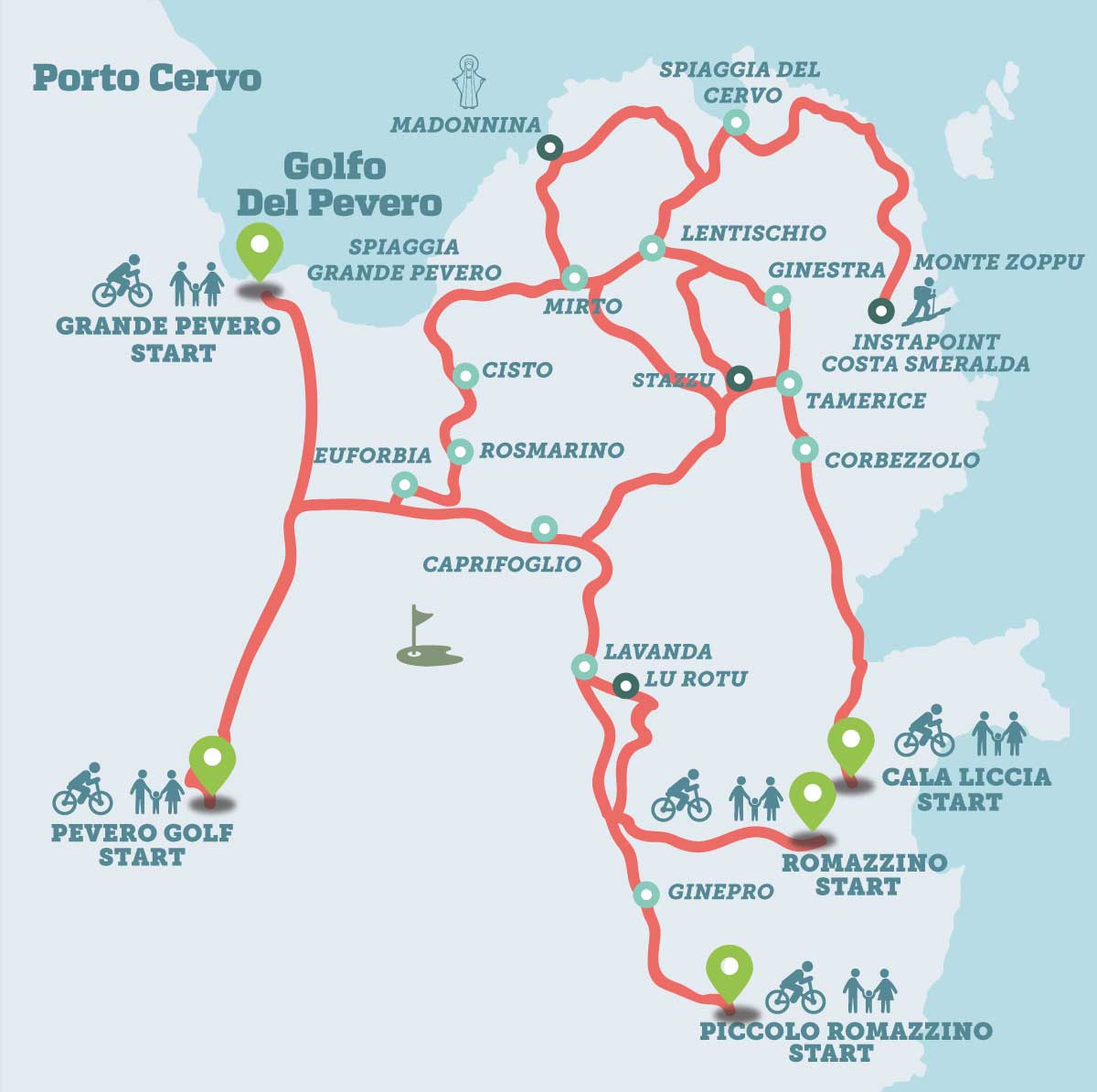 Pevero Health Trail - Trekking in Costa Smeralda